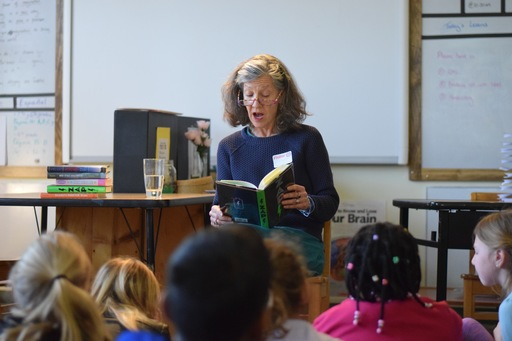 A Visit from author, Martha Freeman!